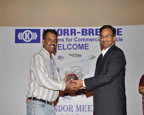 Knorr Bremse Best Supplier Award 2010