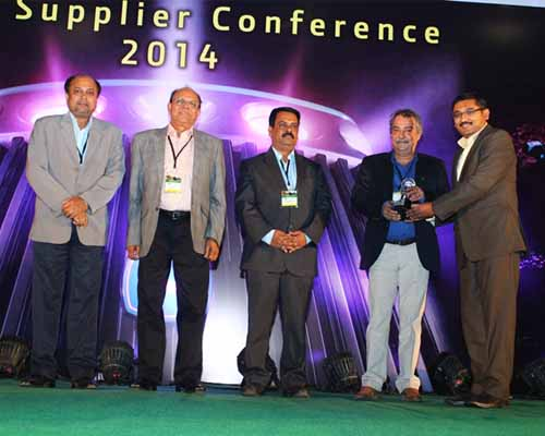 ìBest Supplier- Cost Management -Value Improvement Award 2014